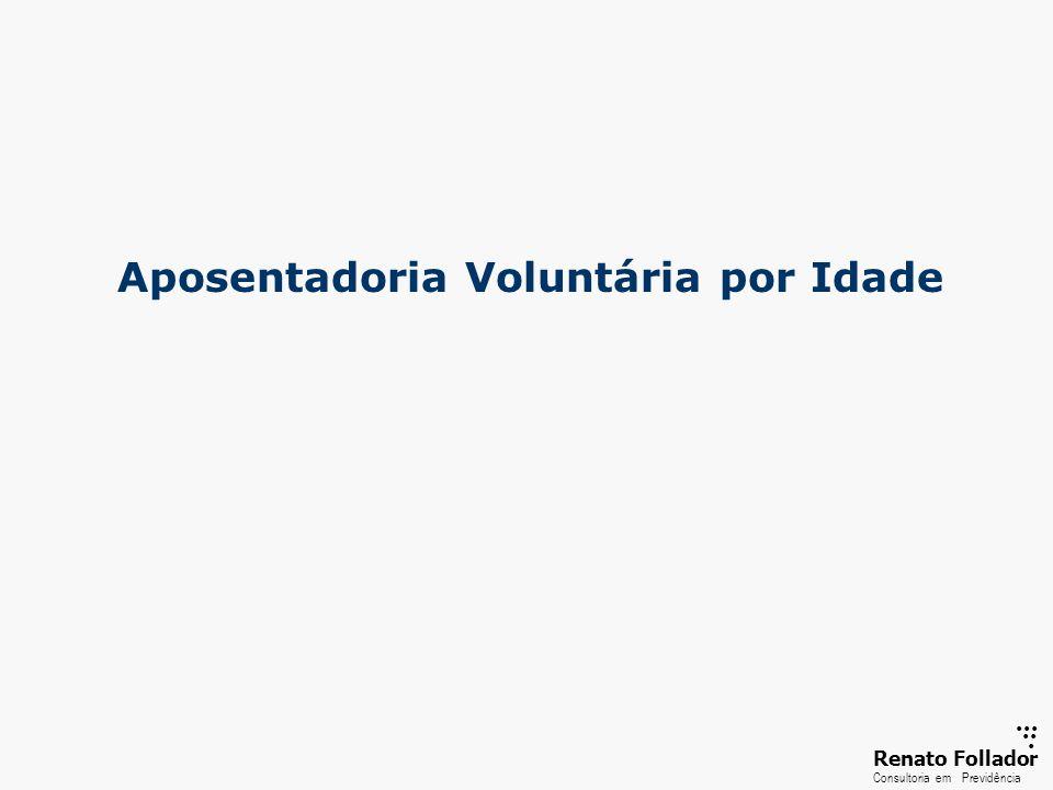 ...... RenatoFollador Consultoria emPrevidência Aposentadoria Voluntária por Idade