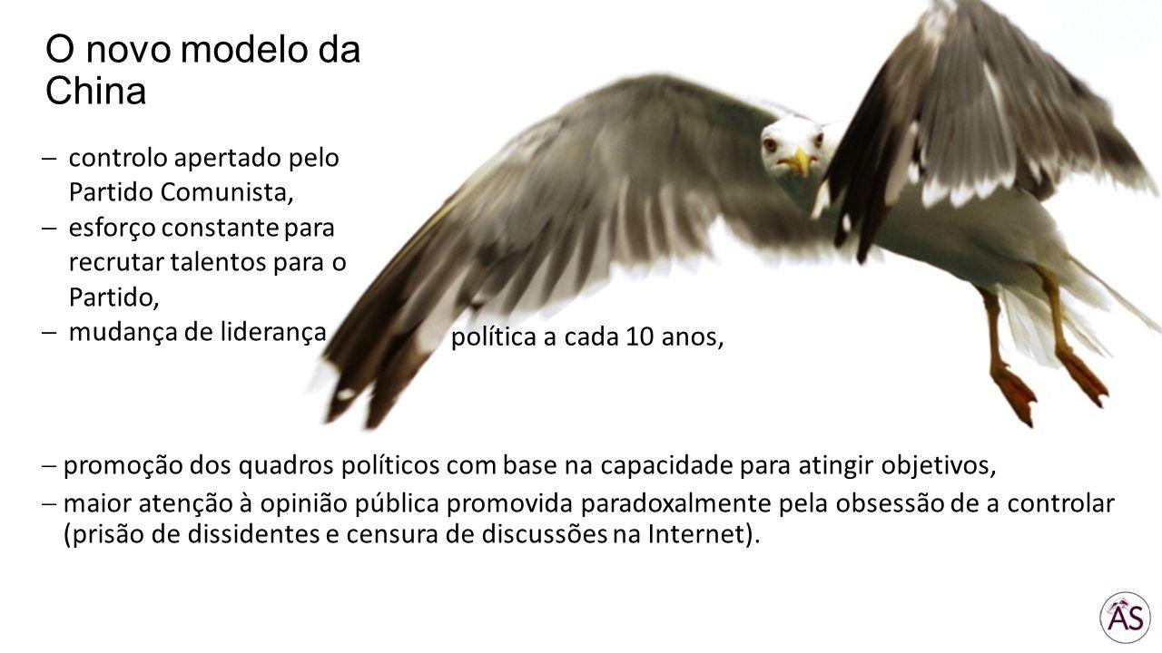 promoção dos quadros políticos com base na capacidade para atingir objetivos, maior atenção à opinião pública promovida paradoxalmente pela obsessão d