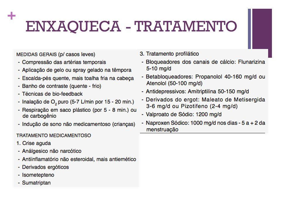 + ENXAQUECA - TRATAMENTO