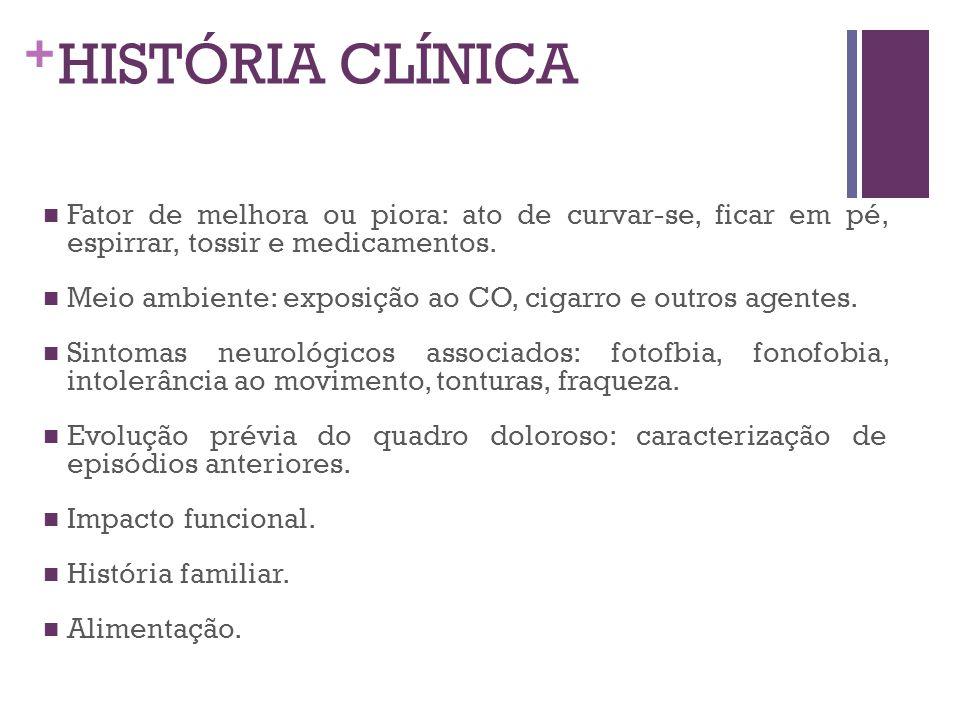 + ENXAQUECA SEM AURA Critérios diagnósticos A.