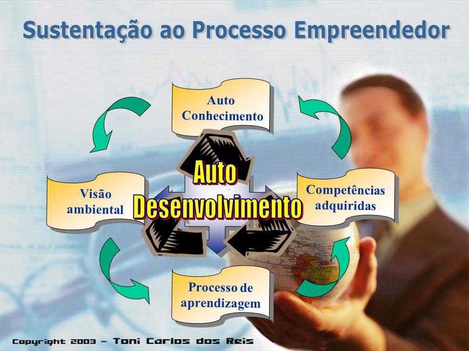 Auto Conhecimento Auto Conhecimento Processo de aprendizagem Processo de aprendizagem Visão ambiental Visão ambiental Competências adquiridas Competên