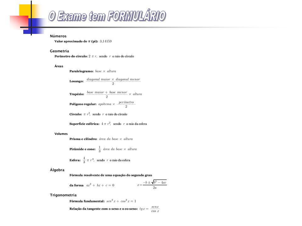 oExames Nacionais (2006) oFichas 3, 7, 11, 17, 20, 25, 31, 36 e 37 oTestes de Avaliação oFichas 21 e 32