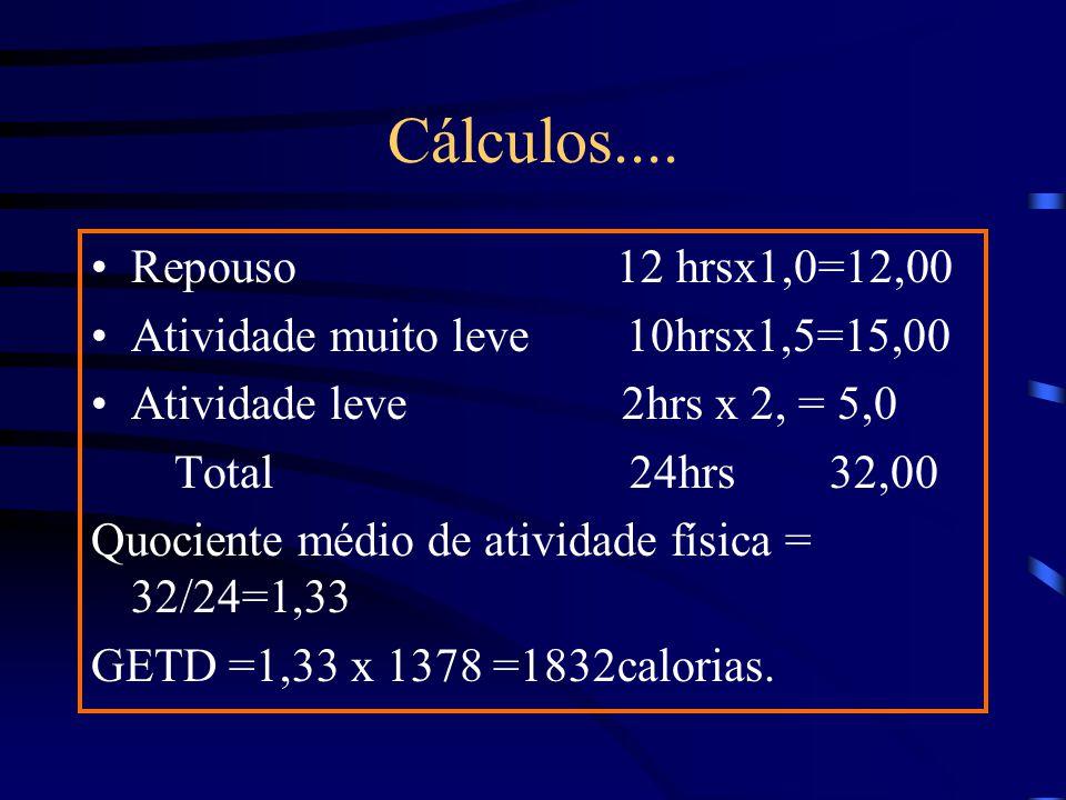 Cálculos....