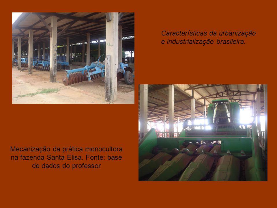 Entrada da Fazenda Santa Elisa, na cidade de Santo Antonio de Posse, interior de São Paulo. Um dos locais de trabalho dos alunos do colégio Santa Cruz