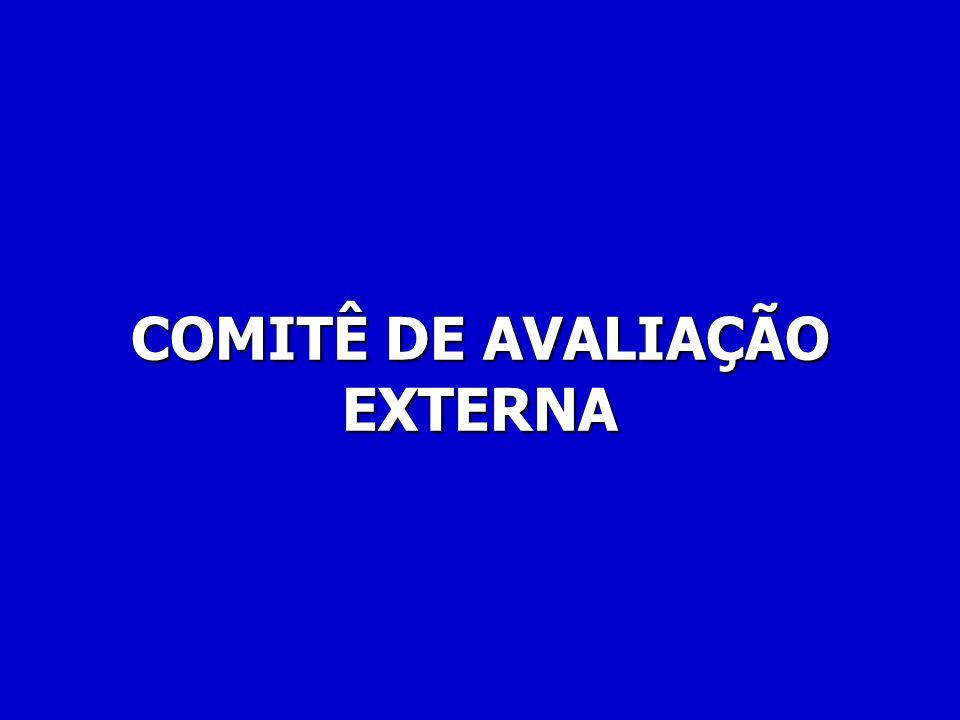 COMITÊ DE AVALIAÇÃO EXTERNA