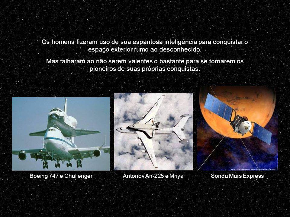Mas aqui, o próprio homem se tornou um satélite da Terra Passeio espacial preso por cabos...