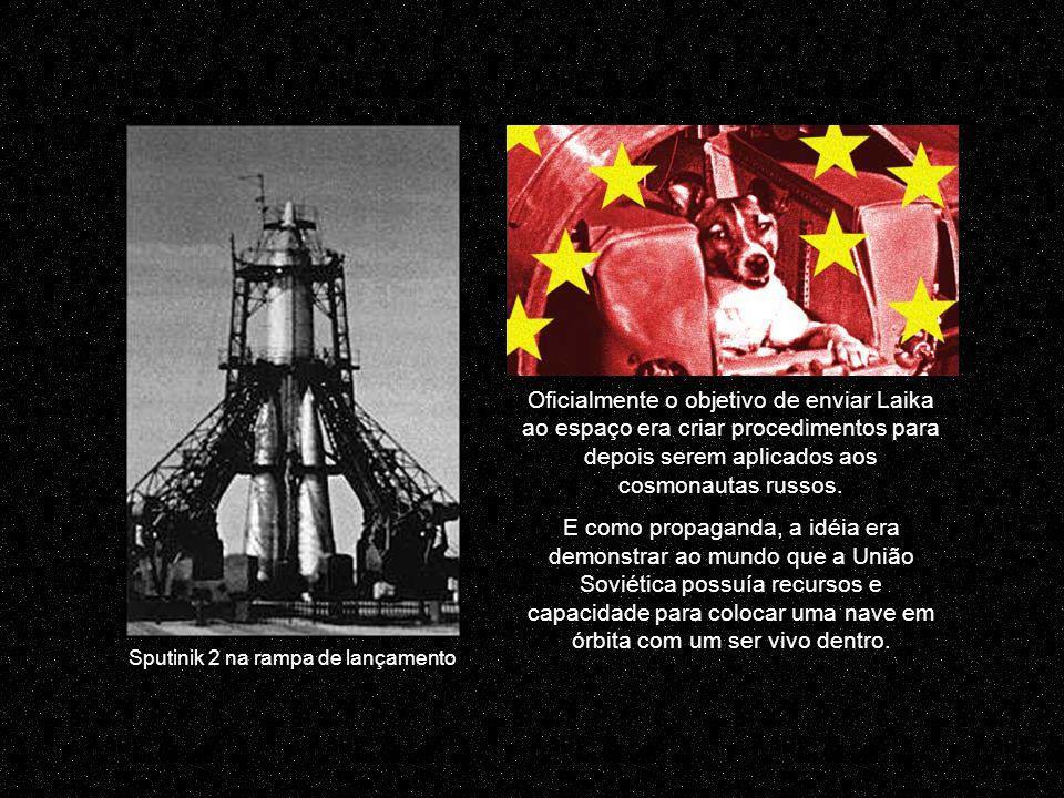 A corrida espacial havia começado um mês antes, com o lançamento do primeiro satélite soviético não tripulado na órbita da terra, no dia 4 de outubro de 1957, o Sputnik 1, juntamente com o período da Guerra Fria entre EUA e URSS.