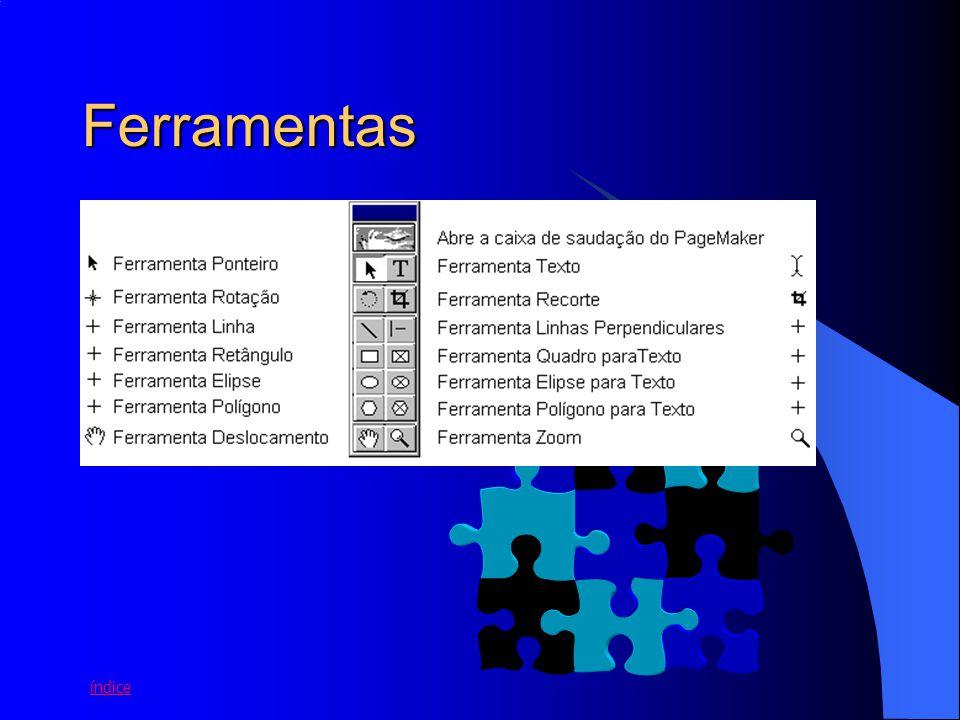 6 Preferências ARQUIVO > PREFERÊNCIAS Geral = define unidades de medida, modos de exibição dos gráficos, fontes etc On-line = opções para criação de hipertextos Ajuste do Layout = opções de ajuste de elementos gráficos a página e guias Ajuste do Registro = opções de impressão do documento