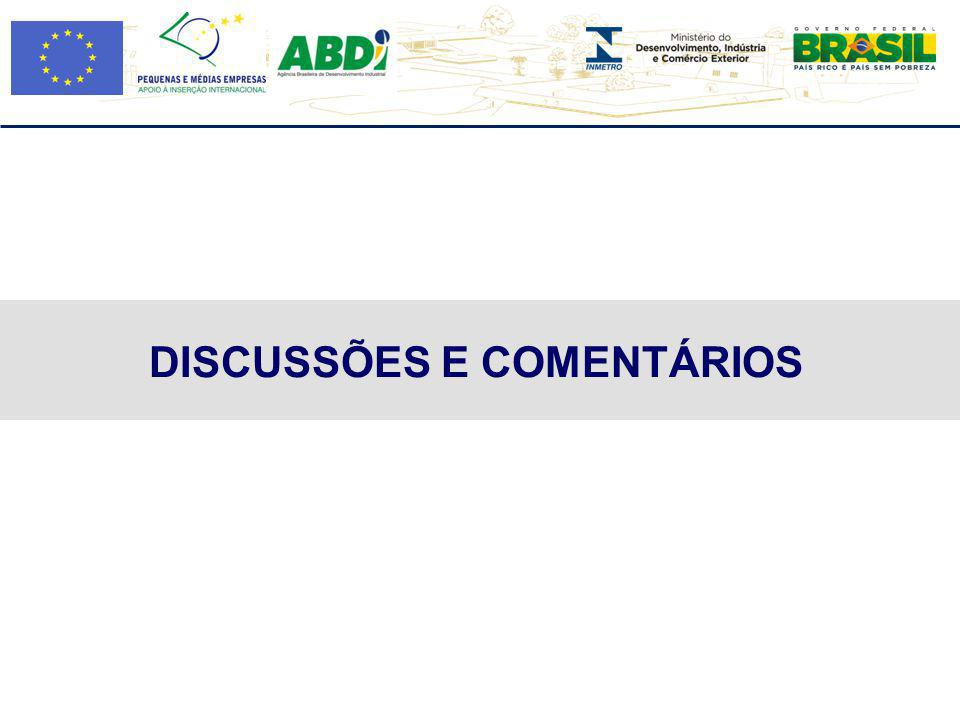 DISCUSSÕES E COMENTÁRIOS