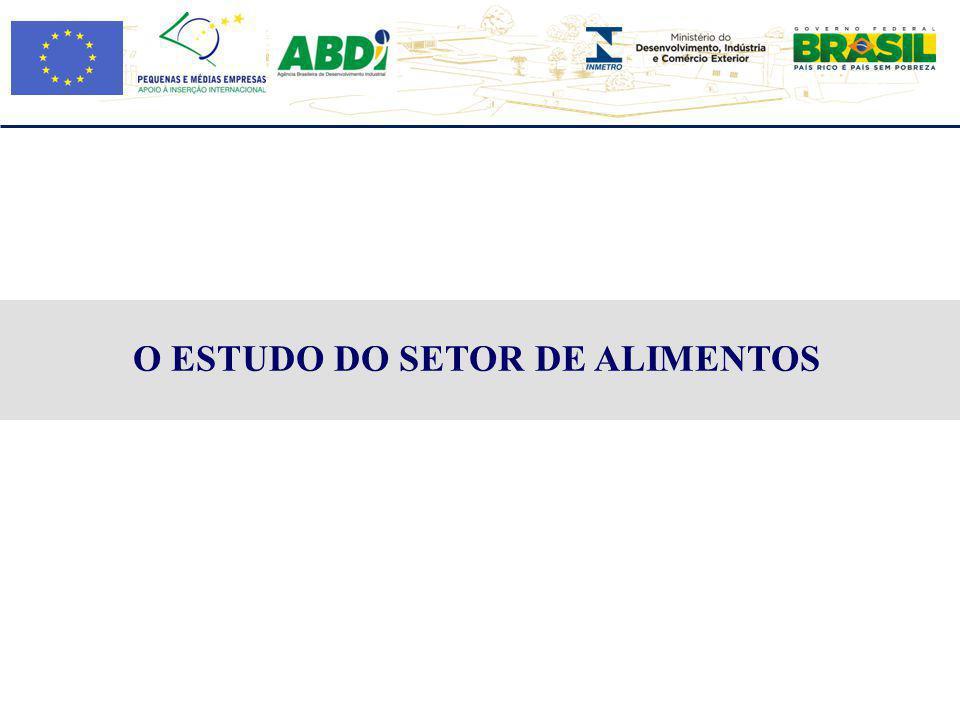 Elaborar orientações para às PMEs brasileiras em suas exportações de alimentos para o mercado europeu, incluindo as exigências técnicas sobre bebidas e alimentos visando promover e apoiar a expansão e a diversificação das exportações destes setores.
