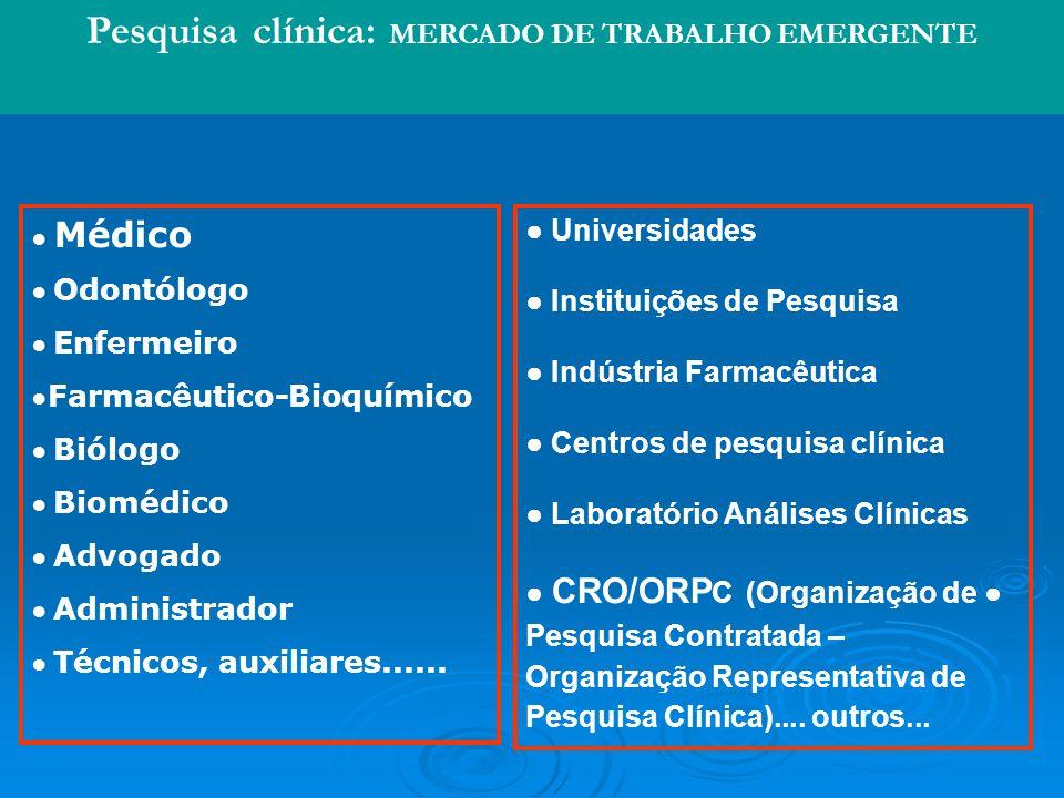 Médico Odontólogo Enfermeiro Farmacêutico-Bioquímico Biólogo Biomédico Advogado Administrador Técnicos, auxiliares......