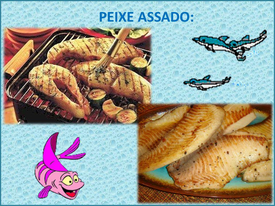 Existe ainda aqueles peixes que vivem dentro do aquário mais que não podemos comer turma, eles são peixes de decoração.