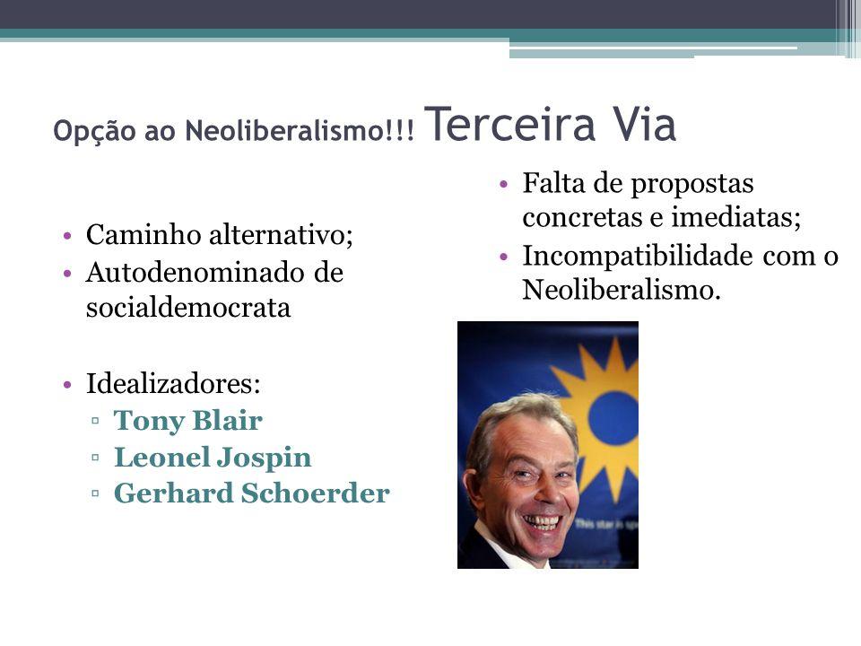 Opção ao Neoliberalismo!!.