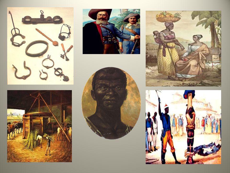 Os escravos que vinham para o Brasil eram de várias etnias. Vejamos: