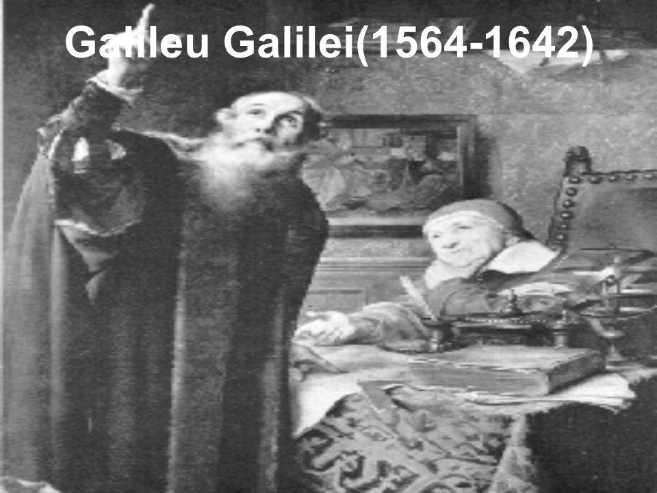 Galileu Galilei(1564-1642)