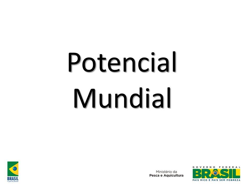 Brasil pesca/aquicultura 10 anos atrás: Situação atual: