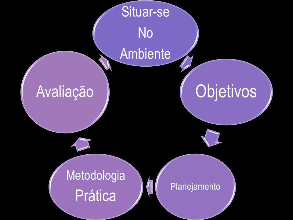 Situar-se No Ambiente Objetivos Planejamento Metodologia Prática Avaliação