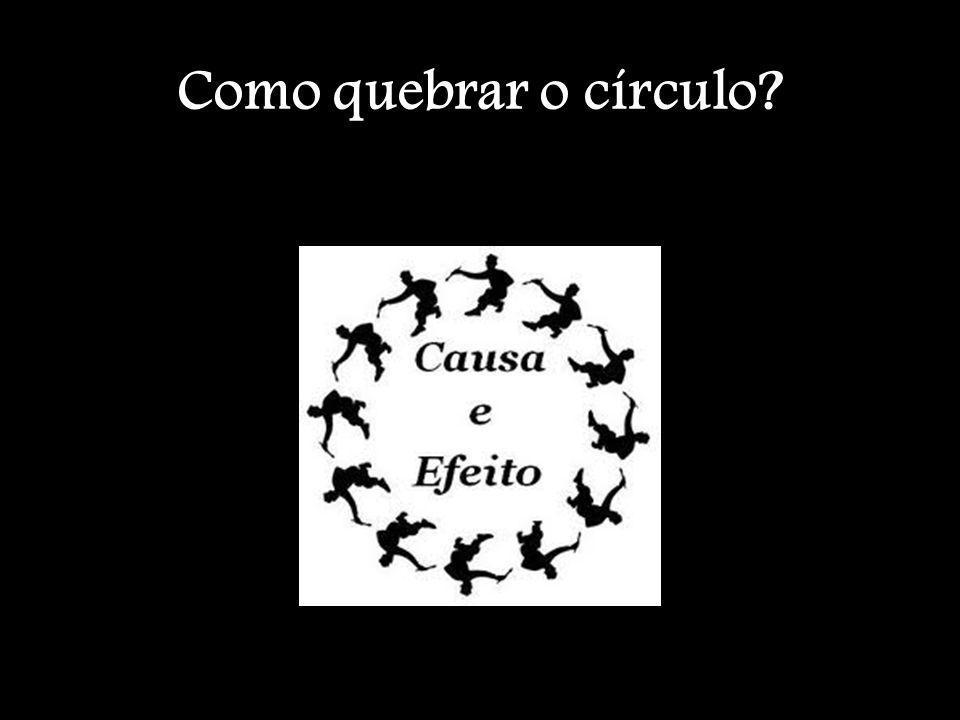 Como quebrar o círculo?