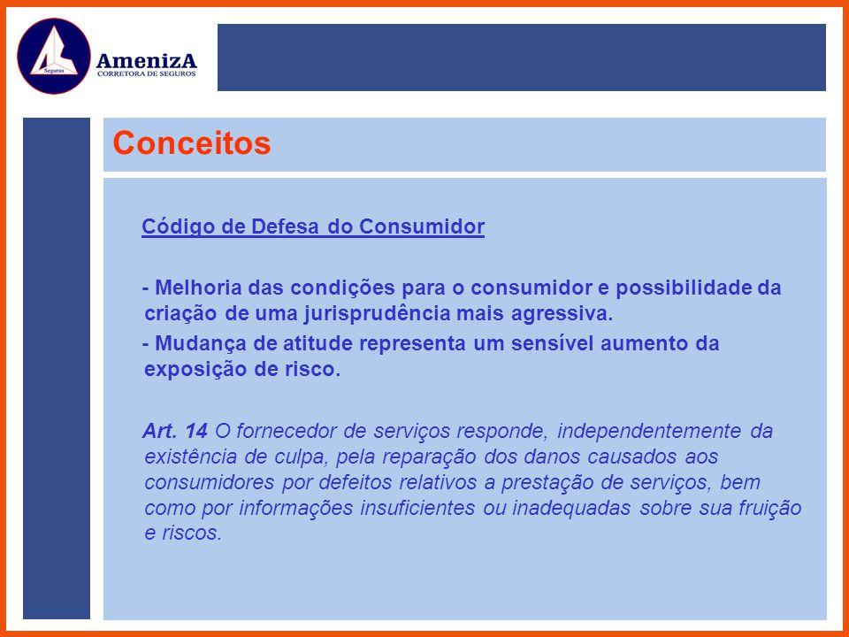 Conceitos Código de Defesa do Consumidor - Melhoria das condições para o consumidor e possibilidade da criação de uma jurisprudência mais agressiva. -