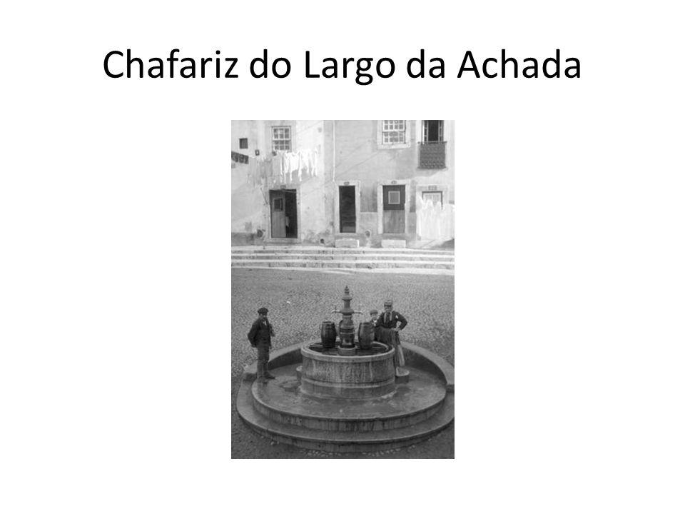 Chafariz do Largo da Achada