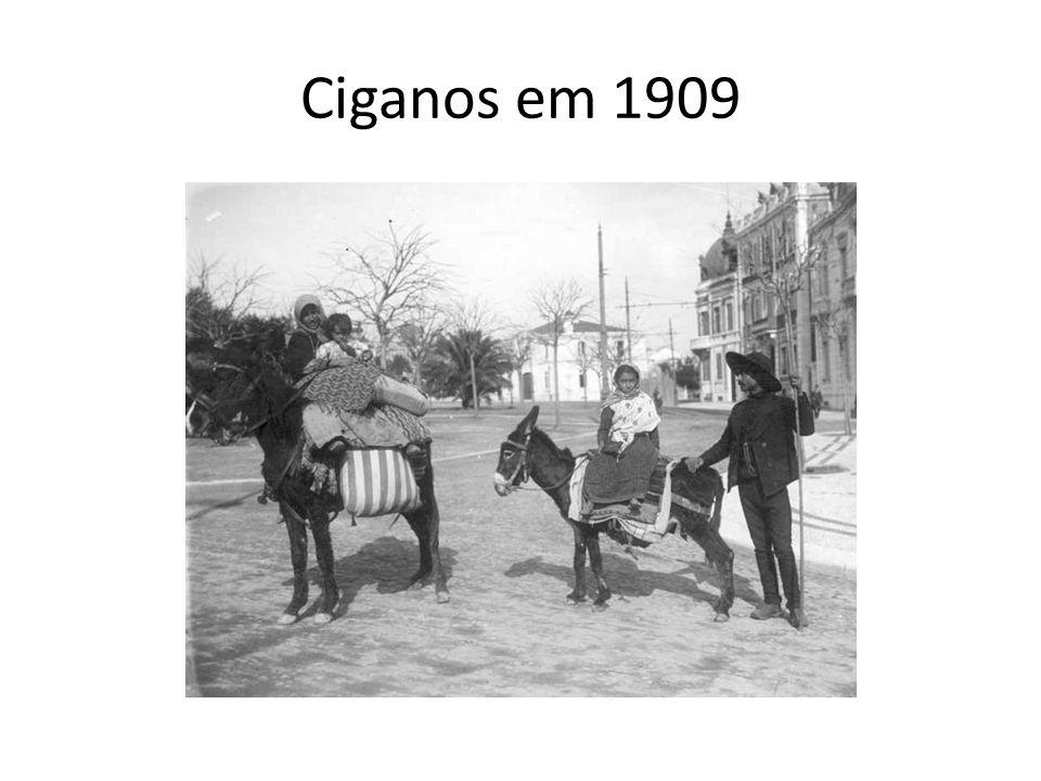 Ciganos em 1909