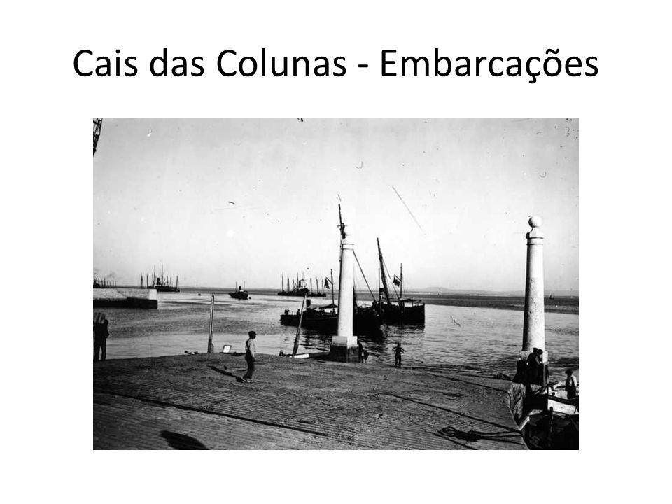 Cais das Colunas - Embarcações
