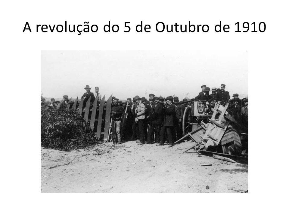 A revolução do 5 de Outubro de 1910