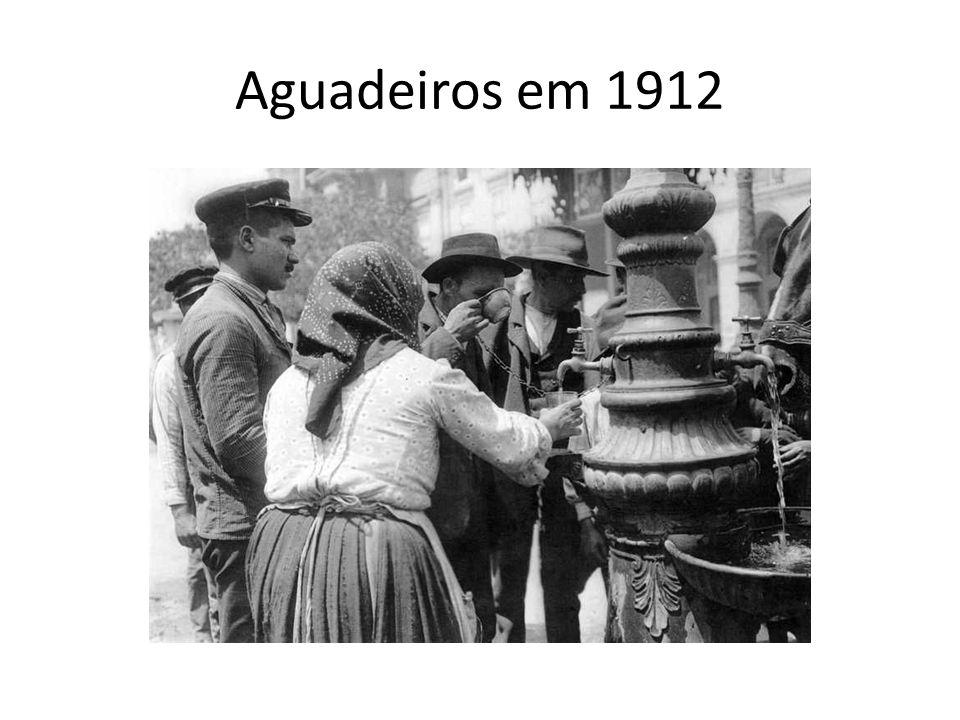 Aguadeiros em 1912