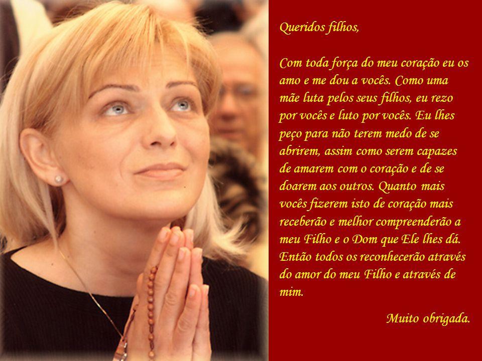 Mensagem de Nossa Senhora à Mirjana Medjugorje 02 de janeiro de 2008