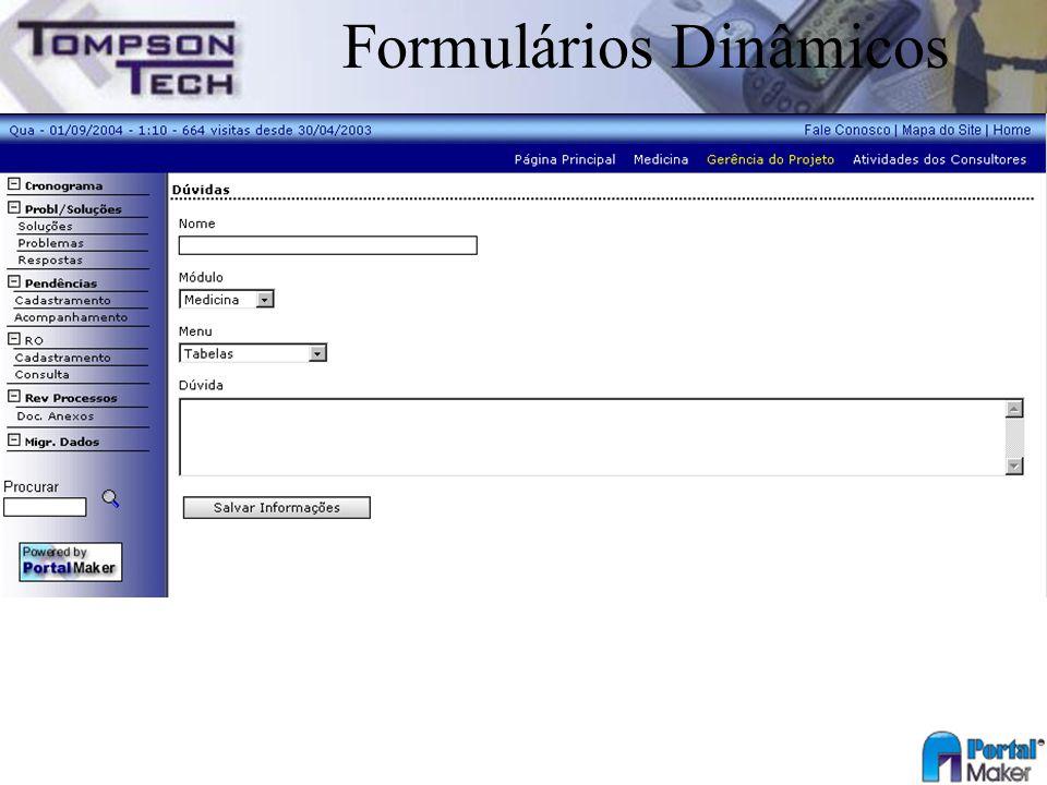 Formulários Dinâmicos