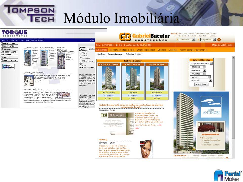 Módulo Imobiliária