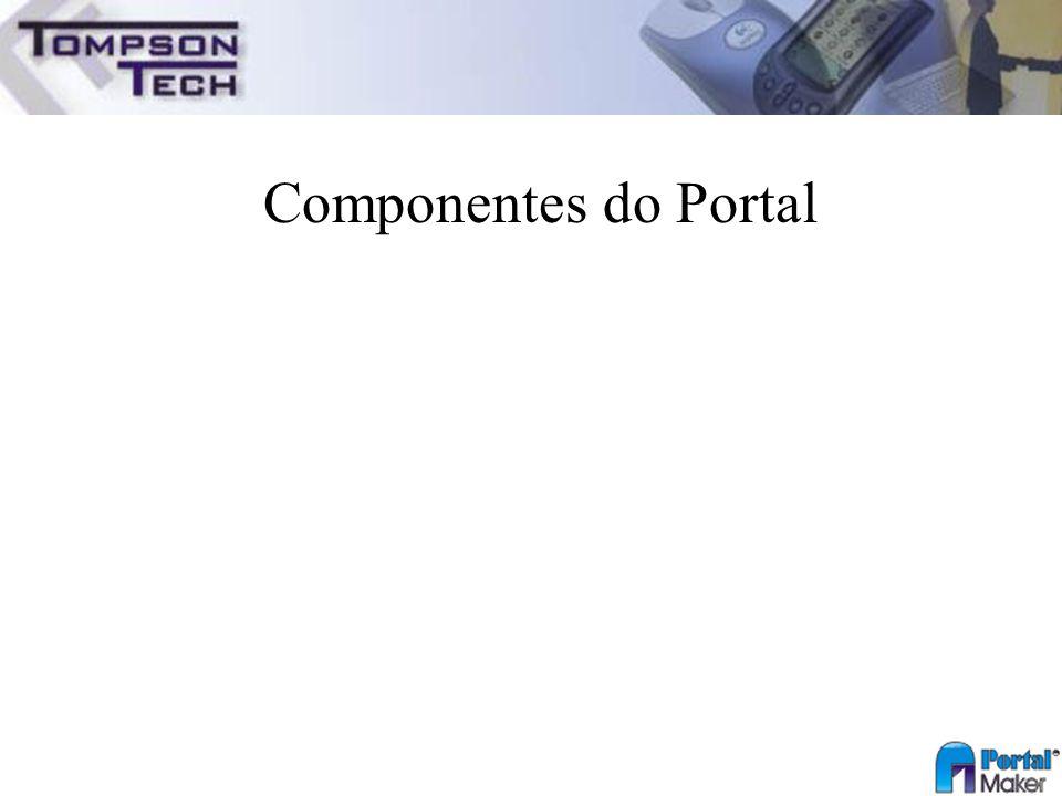 Componentes do Portal
