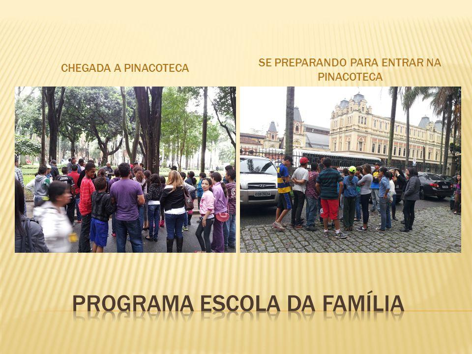 PINACOTECA DO ESTADO DE SÃO PAULO.ALUNOS DA E.E WALTER NEGRELLI.