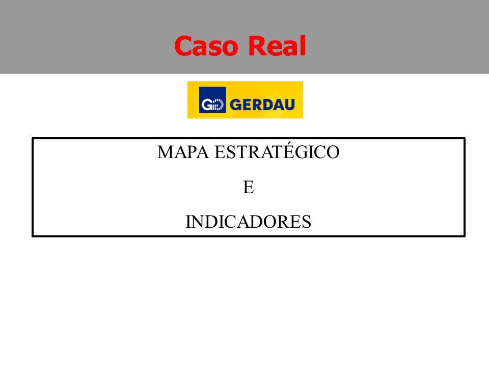 MAPA ESTRATÉGICO E INDICADORES Caso Real