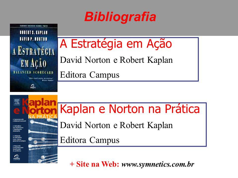A Estratégia em Ação David Norton e Robert Kaplan Editora Campus Kaplan e Norton na Prática David Norton e Robert Kaplan Editora Campus + Site na Web: