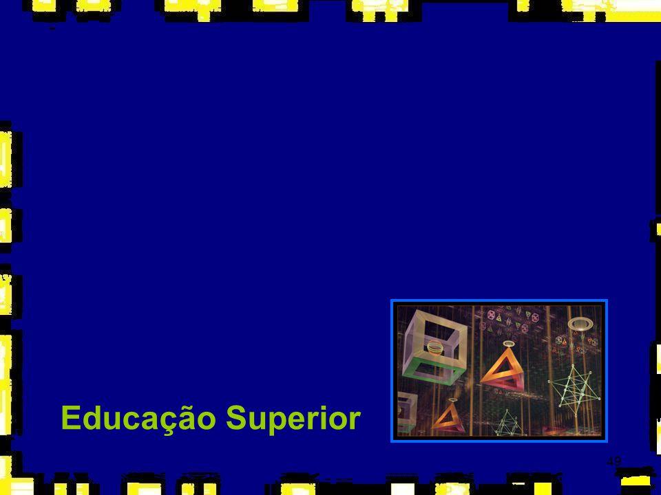 50 Concepção Marcos legais: ÞConstituição Federal (1988): autonomia universitária (didática, científica, administrativa, financeira e patrimonial) pautada no princípio da indissociabilidade entre ensino, pesquisa e extensão; ÞEducação Superior: Lei de Diretrizes e Bases da Educação Nacional (Art.