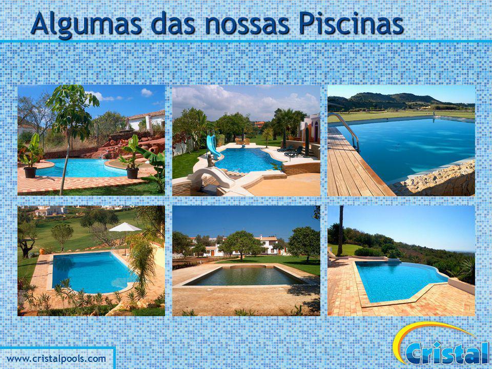 www.cristalpools.com Projecte a sua Piscina