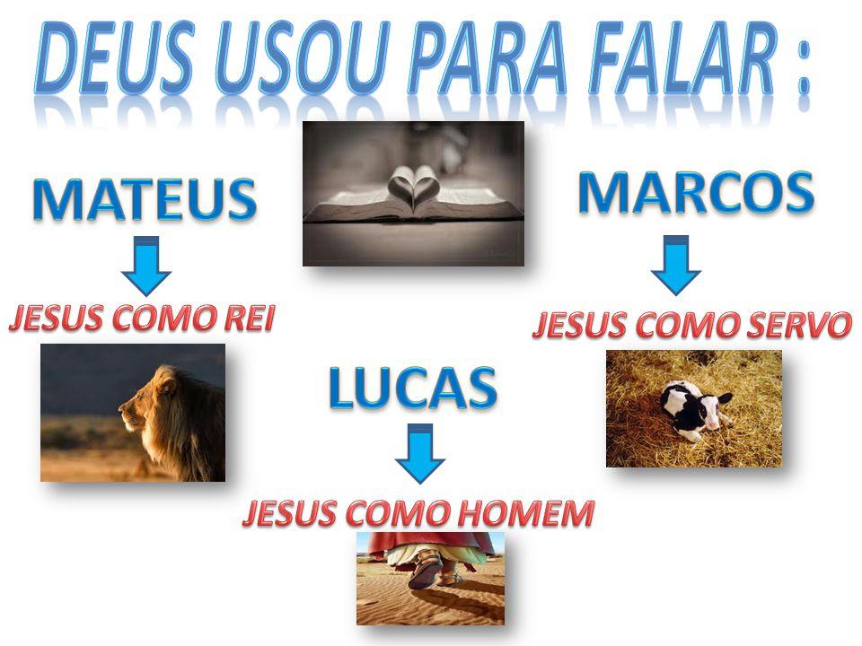 Pois fala de Jesus como o homem perfeito, o justo.