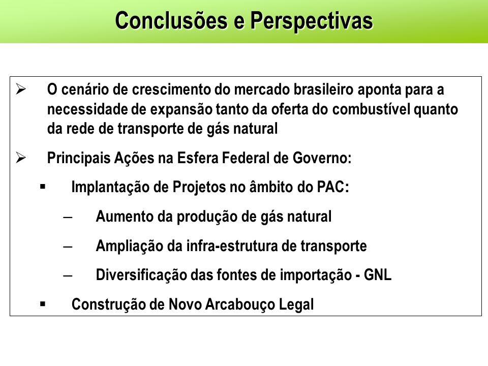 O cenário de crescimento do mercado brasileiro aponta para a necessidade de expansão tanto da oferta do combustível quanto da rede de transporte de gá