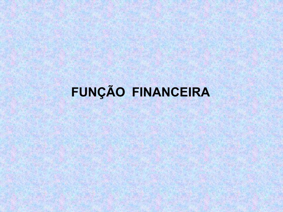 FUNÇÃO FINANCEIRA