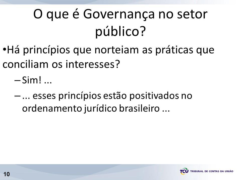 10 Há princípios que norteiam as práticas que conciliam os interesses? – Sim!... –... esses princípios estão positivados no ordenamento jurídico brasi