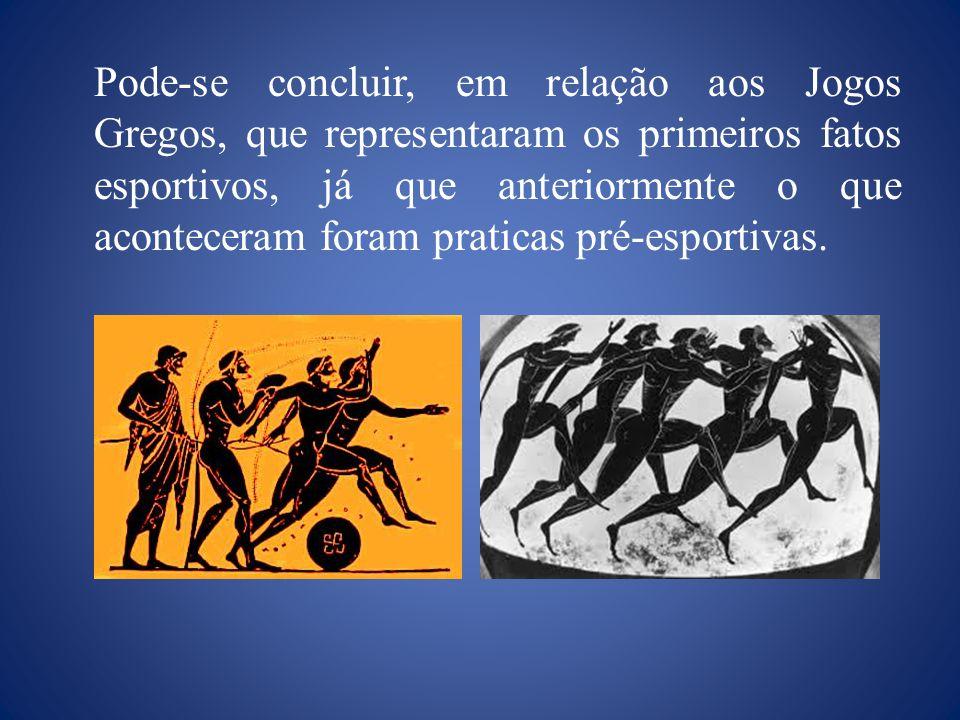 Jogos Fúnebres: Eram em homenagem a figuras de destaque nas cidades gregas que haviam morrido. Jogos Píticos: Eram celebrados em homenagem a Apolo e f
