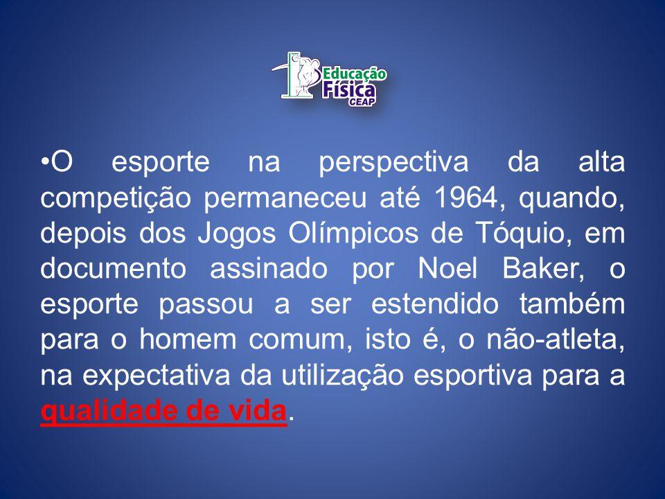A partir da instalação das Olimpíadas Modernas, o movimento esportivo internacional cresceu em torno dessas competições promovidas pelo Comitê Olímpico Internacional e nas atividades das federações internacionais de cada modalidade esportiva, criadas já no século XX.