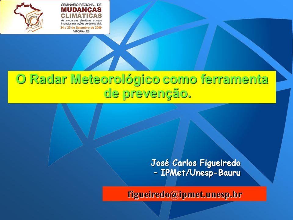 O Radar Meteorológico como ferramenta de prevenção.