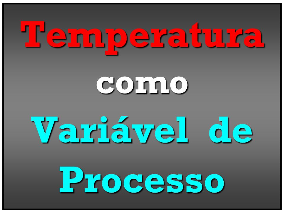 Medir, Controlar, Supervisionar & Gerenciar as Variáveis Físico-Químicas em Eventos Op.