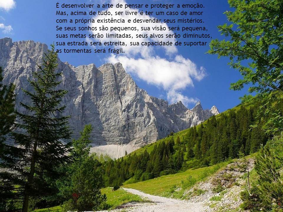 Sábio é o ser humano que tem coragem de ir diante do espelho da sua alma para reconhecer seus erros e fracassos e utilizá-los para plantar as mais bel