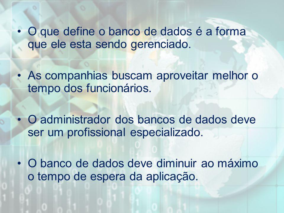 Sistemas de Gerenciamento de Banco de Dados mais utilizados pelas empresas