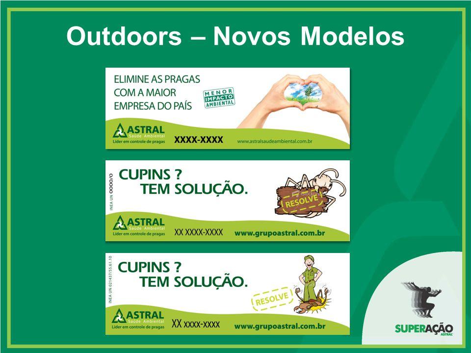 Outdoors – Novos Modelos