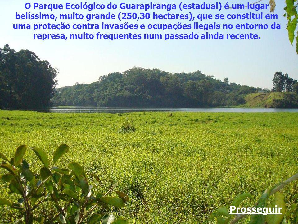 Fica no Parque Ecológico do Guarapiranga, às margens da represa, no bairro de Riviera Paulista, em São Paulo. Neste ano (2012), esse magnífico parque