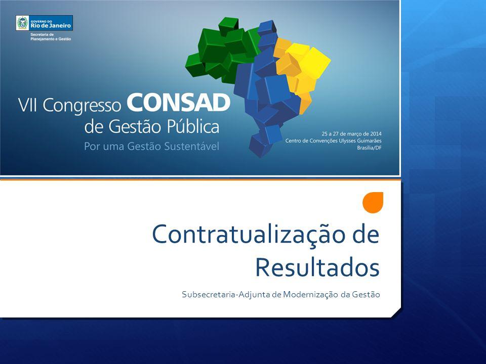 Contratualização de Resultados Subsecretaria-Adjunta de Modernização da Gestão